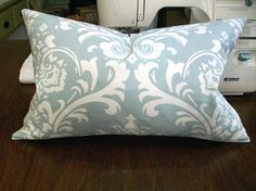 """How to sew a basic throw pillow. Good tutorial for us non-sewers. Only wish there was more detail on the """"sew by hand"""" part."""