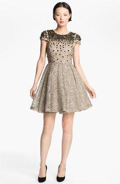 Alice + Olivia 'Aubree' Embellished Dress | Nordstrom
