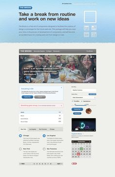 The Bricks – Free User Interface Framework