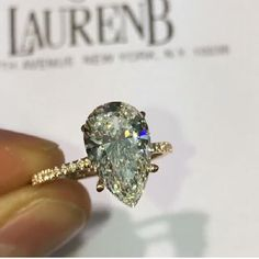 570 Best Rings Images In 2019 Jewelry Diamond Rings Pear Cut