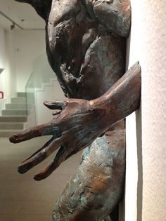 Matteo Pugliese, Hope (detail), bronzo, 68 x 42 x 21,5 cm #contemporary #art #sculpture