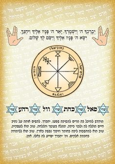 Personalized Kabbalah amulet for success by KabbalahInsights,  with King Solomon Seal and sacred letter combinations, on Etsy for $8.50