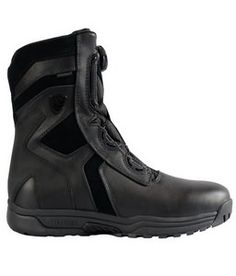"""Blauer Blitz Waterproof 8"""" Boot with BOA Lacing System...newest innovation in public safety footwear.  Try it out! http://www.uniformspec.com/blauer-blitz-waterproof-8-boot-with-boa-lacing-system-500543/"""