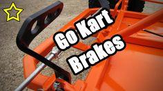 Go Kart Brakes: Pedal, Drum & Band Install