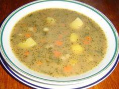 4_bramborova-polevka-jako-od-babicky Czech Recipes, Cheeseburger Chowder, Soup Recipes, Food And Drink, Soap Recipes