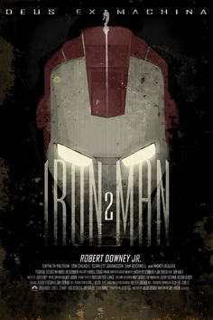 Iron Man 2 - 12x18 - Movie Poster - by Duke Dastardly