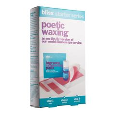 bliss poetic waxing kit instructions