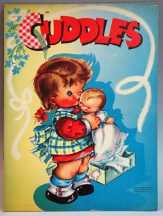 Un Cut Paper Doll Book Cuddles with Doll Paper Doll Samuel Lowe | eBay