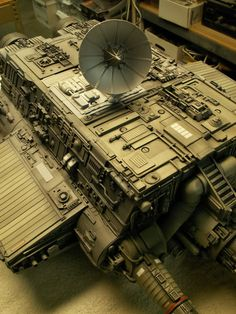 Martin Bower's Dreadnought (and my Ranger 5) - Space 1999 Eagle Transporter Forum