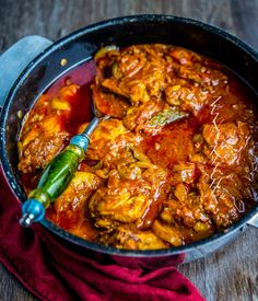 Indisk gryta med kyckling - ZEINAS KITCHEN Healthy Indian Recipes, Healthy Dinner Recipes, Appetizer Recipes, Ethnic Recipes, Zeina, Tamarindo, Mindful Eating, Everyday Food, Coco