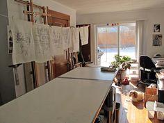 Silk paintings by Linda Marcille ~ Art on Silk, via Flickr