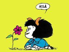 [Mafalda, por Quino   Joaquín Salvador Lavado Tejón (Quino), nació en la ciudad de Mendoza (Argentina) el 17 de julio de 1932. Humorista gráfico e historietista. Su obra más renombrada es la tira cómica Mafalda, publicada originalmente entre 1964 y 1973. (Wikipedia)]