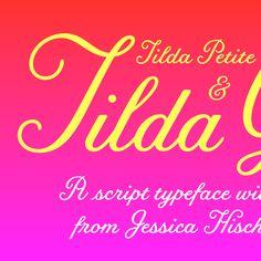Tilda by Jessica Hische for Font Bureau