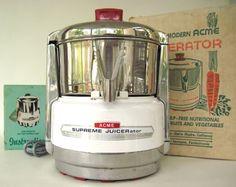 Acme Juicer 6001 Supreme Juicerator Vintage by LaurasLastDitch