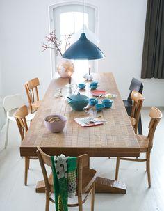 我們看到了。我們是生活@家。: 荷蘭織品設計師Hellen van Berkel美麗多彩的家