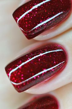 Head in the Clouds: OPI Underneath The Mistletoe
