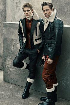 Belstaff Fall Winter 2015 Menswear Collection is Moto Chic - Otoño Invierno… Look Fashion, Fashion Show, Mens Fashion, Fashion Design, Moda Formal, Hommes Sexy, Belstaff, Style Casual, Fall Winter 2015