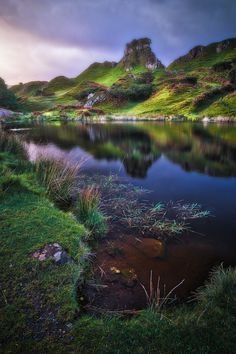 The Fairy Glen, Uig, Trotternish Peninsula, Isle of Skye, Hebrides, Highlands, Scotland by Ian Hex of LightSweep #Highlandsscotland