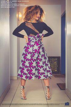 Absolument sous le charme de la nouvelle collection de la marque Sanouyé. La collection porte un nom original «Mi Sé Sa Mwen Yé», une expression provenant du créole guadeloupéen signifiant «Voilà ce que je suis». En effet, à travers ses créations, la créatrice entend révéler les différentes femmes qu'elle est du fait de mes nombreuses ...: