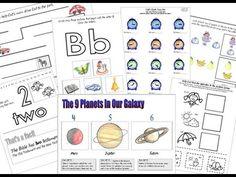 Materiales para imprimir para Escuela en Casa - YouTube