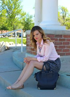 Perfectly Periwinkle: Preppy & Pink