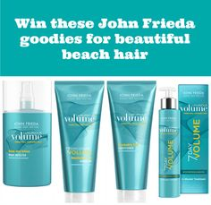 john frieda luxurious volume range #giveaway #competition