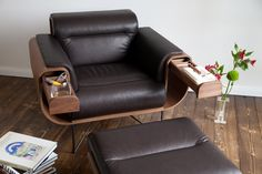 El Purista - an armchair designed for the purist cigar smoker. Although, it could totally work for anything else, too.