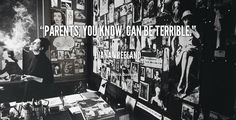 """""""Parents, you know, can be terrible."""" - Diana Vreeland #quote #lifehack #dianavreeland"""