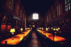 Hogwarts or Christ Church College in Oxford