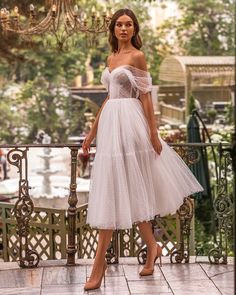 Top 30 Hottest Wedding Dresses: Guide To Every Silhouette ❤ hottest wedding dresses sweetheart neckline off the shoulder tea length aria bride #weddingforward #wedding #bride #weddingoutfit #bridaloutfit #weddinggown