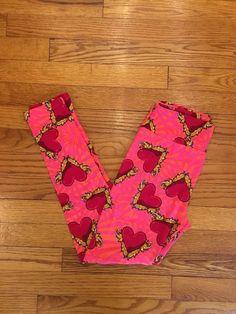 922bd72d961494 LuLaRoe Leggings Valentines Day Leggings One Size (OS) #fashion #clothing  #shoes