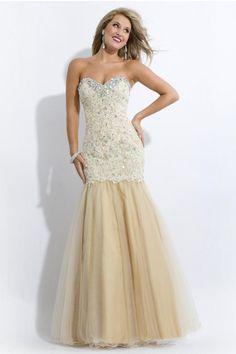 Wishesbridal Trumpet Mermaid Prom Dress