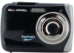 Bell+Howell - 12.0 Megapixel WP7 Splash Underwater Digital Camera (Black)