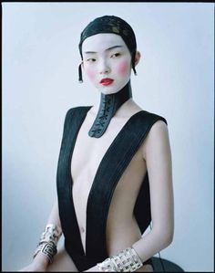 Xiao Wen Ju photographed by Tim Walker