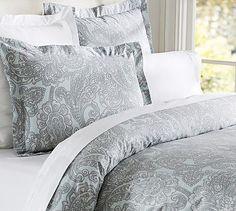 bed sets, sham potterybarn, master bedrooms, duvet cover, bedding sets