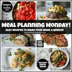 Meal Planning Monday #188