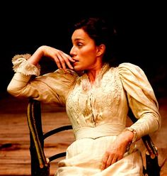 Kristin Scott Thomas as Arkadina in The Seagull (Revival) Royal Court Theatre, London, 2007 - outstanding performance!