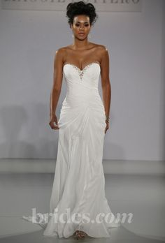 Brides.com: Maggie Sottero -Fall 2013. Gown by Maggie Sottero  See more Maggie Sottero wedding dresses in our gallery.