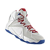 LeBron 12 Wizards Home (White/University Red/Game Royal)