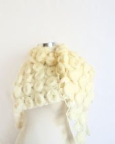 Modelknitting design shawl Bride Rose-Patterned by modelknitting