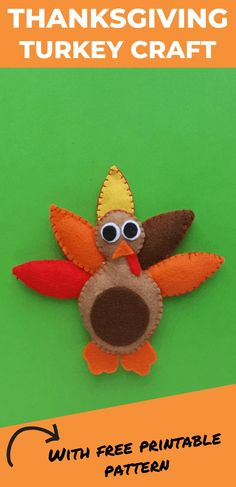 DIY Felt Turkey Plush