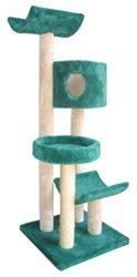 It will be love at first sight when your kitty lays his eyes on this Model 3L23 Four Tier Cat Tree from Molly and Friends! Loaded with entertaining features in a compact size, this kitty tree is a great option for those without a lot of extra space around the house. Your energetic cat will love jumping from one level to the next, or settling down on one of the available perch platforms. https://www.moorepet.com/65-Inch-Four-Tier-Cat-Tree-3L23-p/mollyfriends-3l23.htm #catsdiyperch