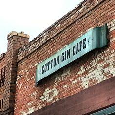 Cotton Gin Café in Prosper, Texas.