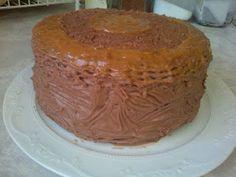 LEKKER RESEPTE VIR DIE JONGERGESLAG: BESTE SJOKOLADE KOEK / BEST CHOCOLATE CAKE Best Chocolate Cake, Treat Yourself, Vanilla Cake, Tart, Cake Recipes, Pudding, Sweets, Baking, Kos