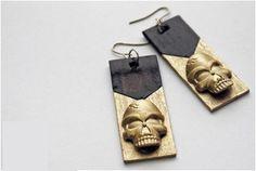 Glam Skull Earrings