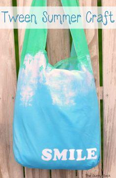 Tie Dyed Tote Bag