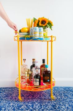 Bar Cart Makeover – Bringing Something OLD AND RUSTY BACK TO Remove Rust From Metal, How To Remove Rust, Diy Doll Miniatures, How To Clean Chrome, Advent Calendars For Kids, Visiting Nyc, Paper Chains, Raised Garden Beds, Diy Craft Projects
