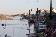 The quayside at Wells-next-to-sea, Norfolk
