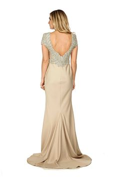 The Silva gown by Jovani is the epitome of 1920s elegance thanks to its scallop cap sleeves and beautifully embellished design. Hire for £90 here: http://www.wishwantwear.com/dress-hire/jovani/1328-silva-gown.html?utm_expid=38629437-8_referrer=http%3A%2F%2Fwww.wishwantwear.com%2Fcatalogue%2Fwhat-s-new%2F
