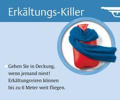 """Bleiben Sie gesund! Aus: """"Die 50 besten Erkältungskiller"""", TRIAS Verlag"""